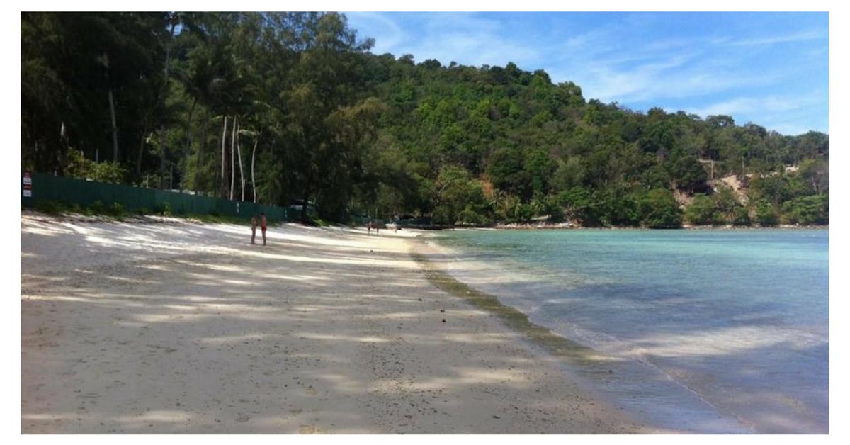 Tri-Triang Beach, Phuket