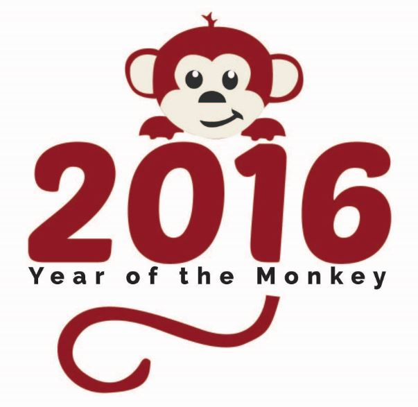 It's the Chinese Year of the Monkey!